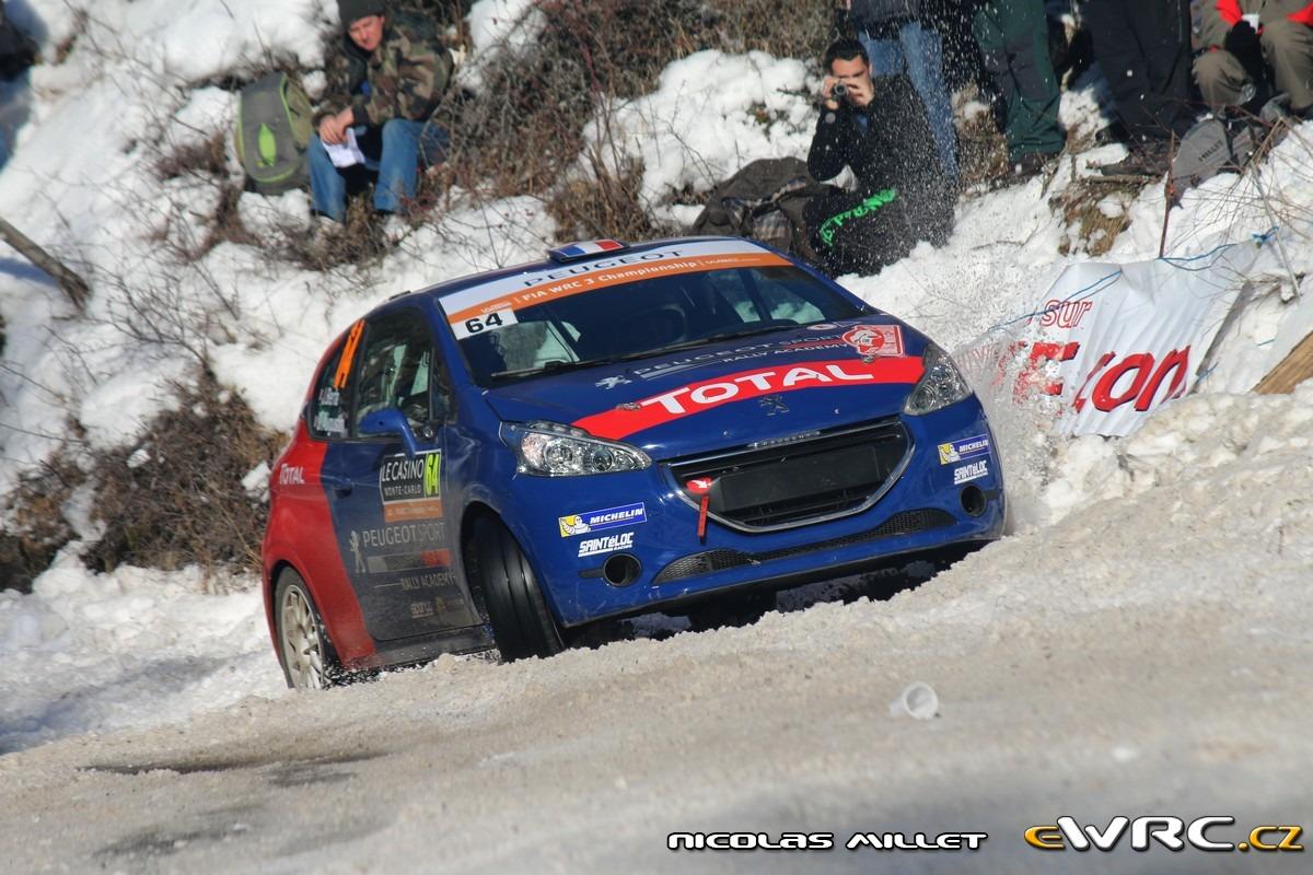 Petit aperçus des particularités du Monte Carlo… En slicks sur la neige