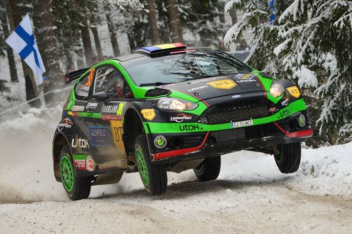 Simone TEMPESTINI Mattéo CHIARCOSSI FORD Fiesta R5 Sweden Rally 2016