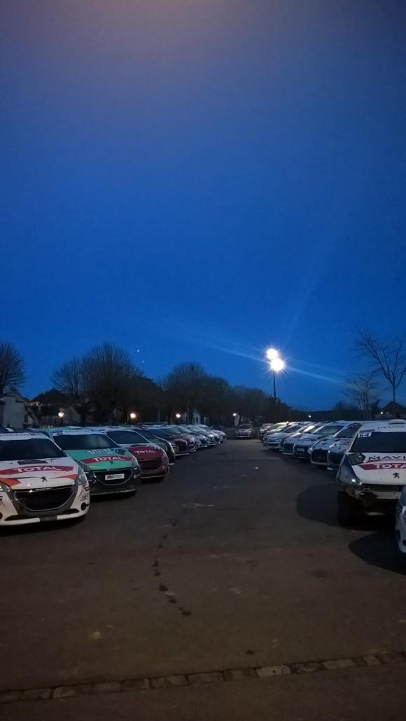 Saison 2016 de la Peugeaot 208 Rally Cup